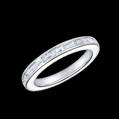 Lifetime Baguette Diamond Ring