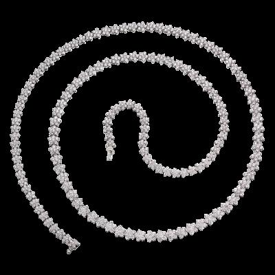 Opera Length Diamond Necklace