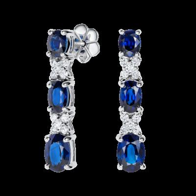 Kiss Sapphire Earrings