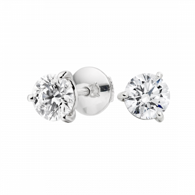 Solitaire Diamond Studs 1.40 carats total