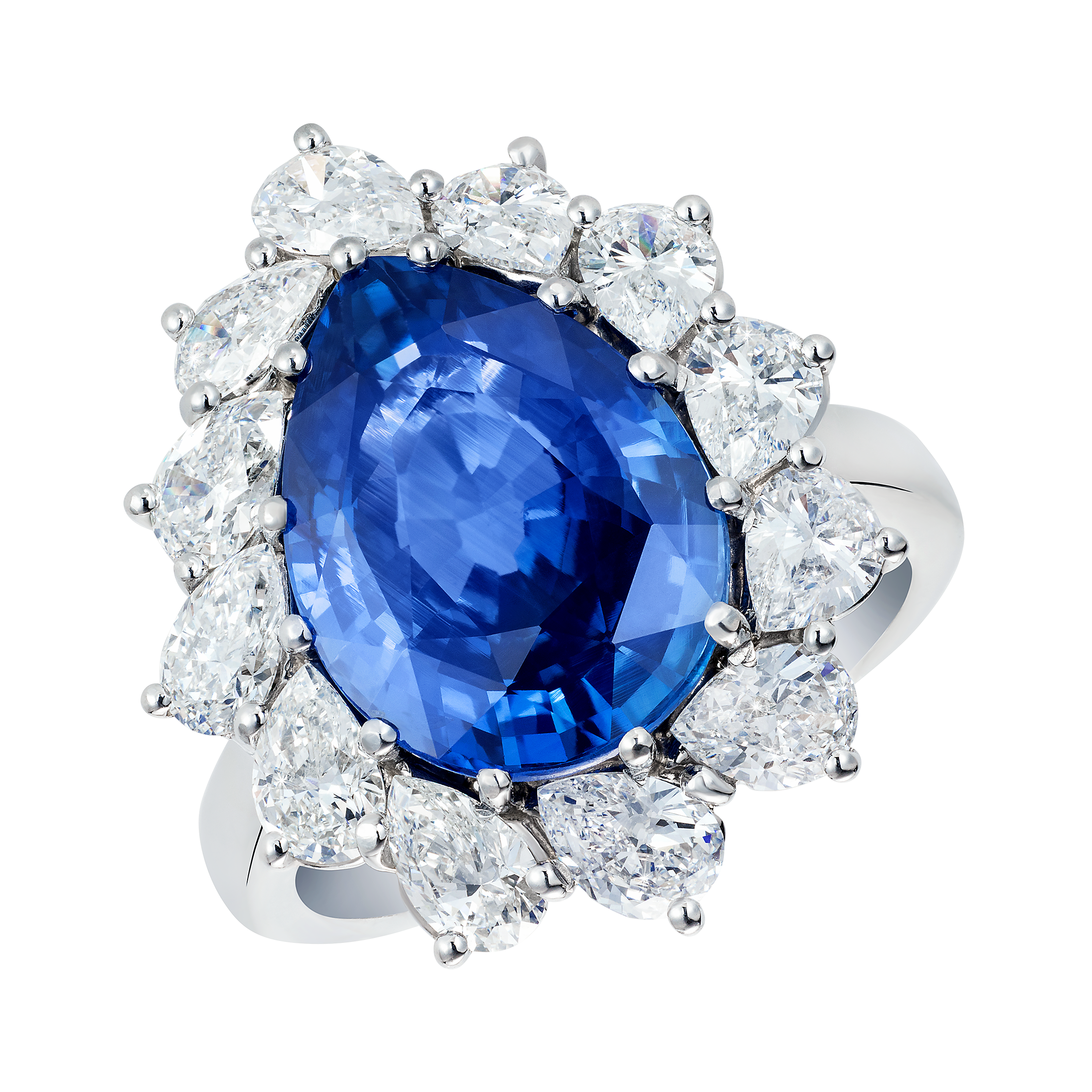 sapphire cut cutting halo design david of gemstone gem pin gemstones star