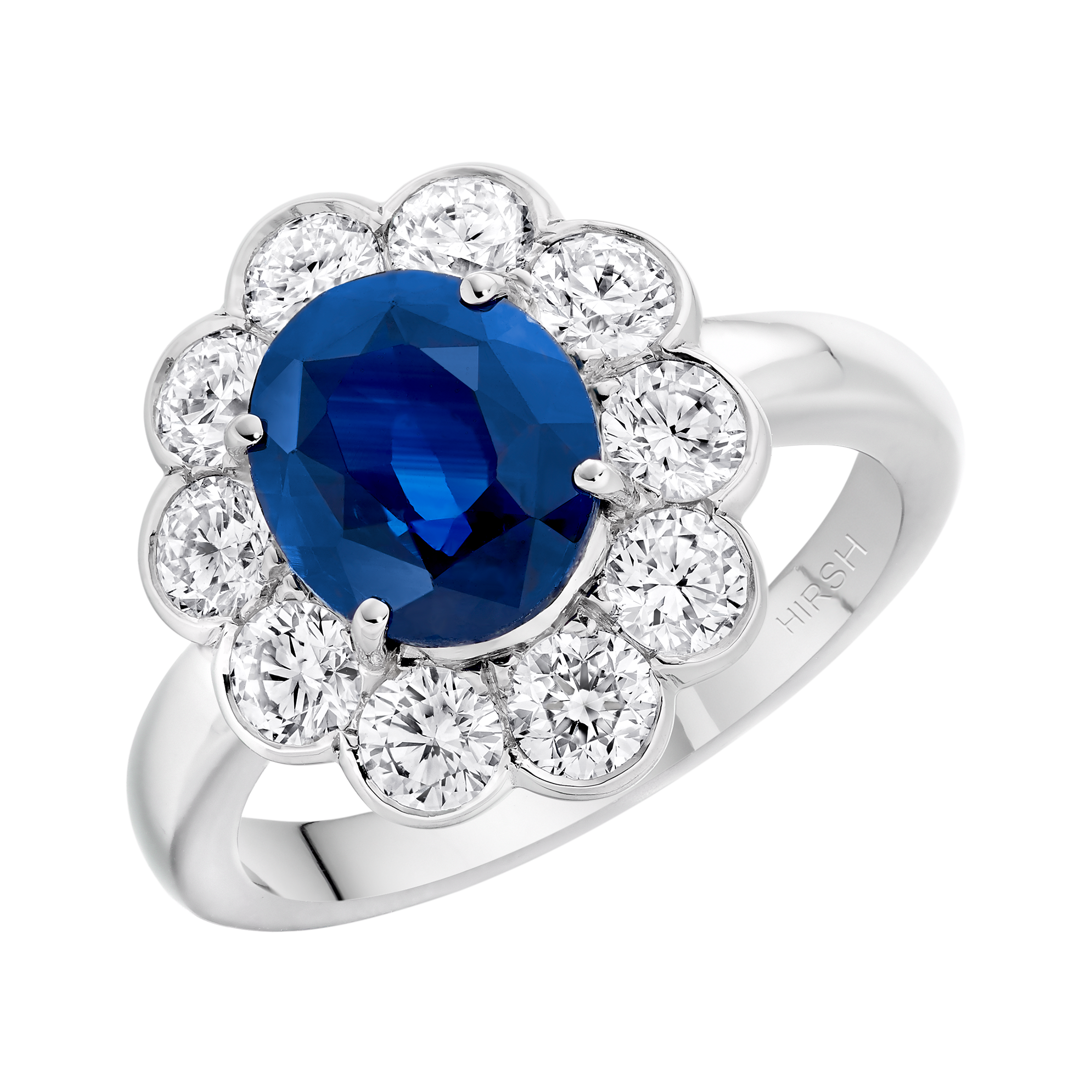 cut precious blue gifts gemstone fine and trillion diamond dinny ring audrey rings sapphire diamonds hall