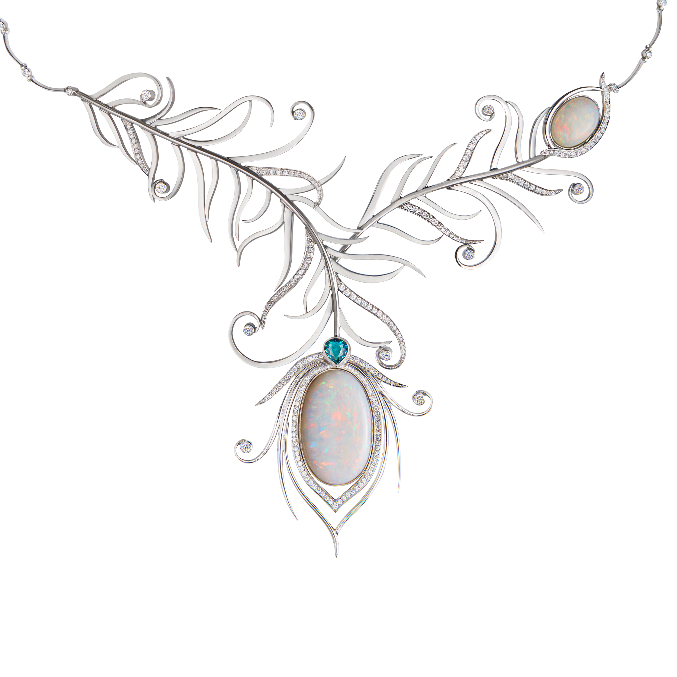 peacock pendant collections necklace silver mine sterling simply feather products