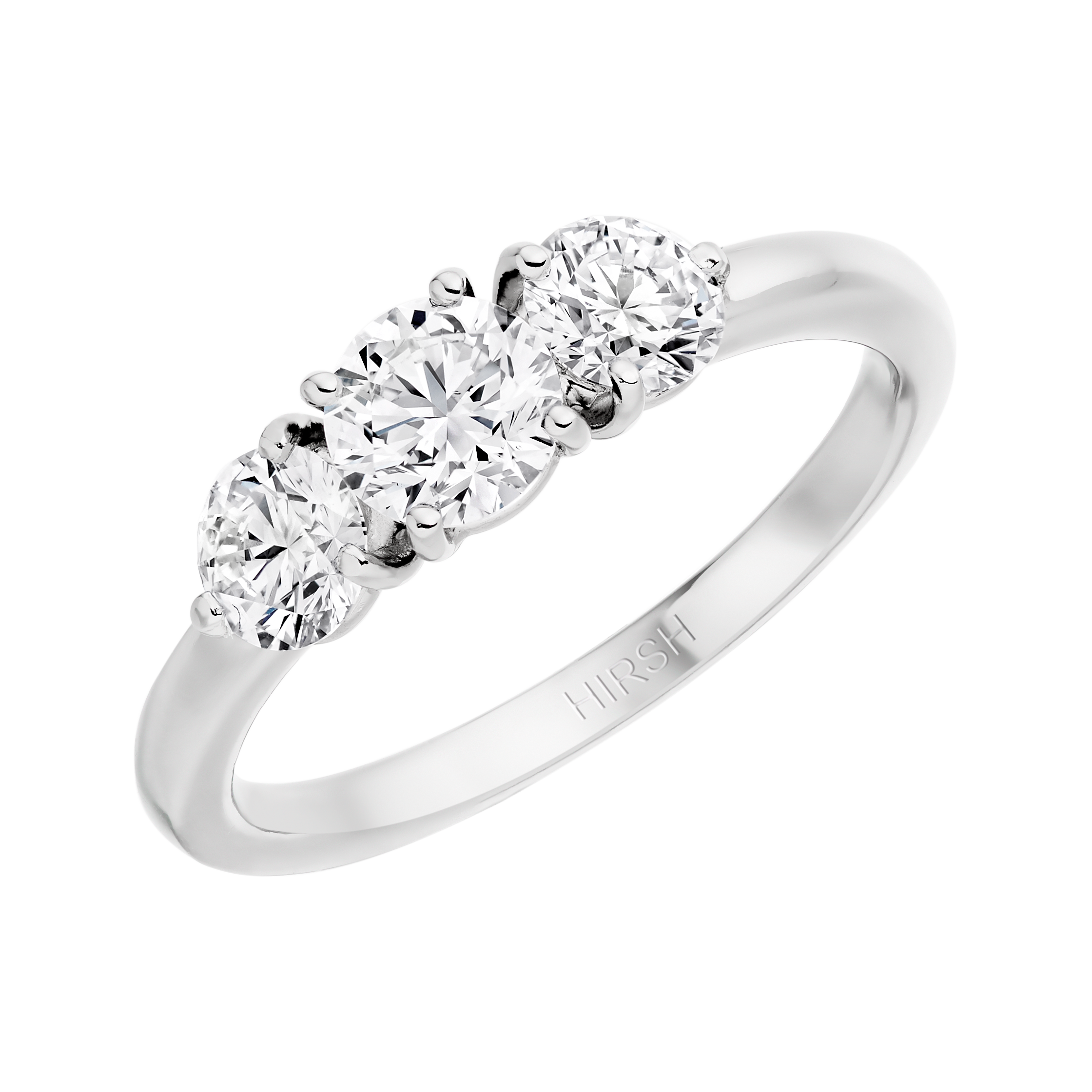 diamond brilliant set with engagement cut dsc rings claw round product shoulders