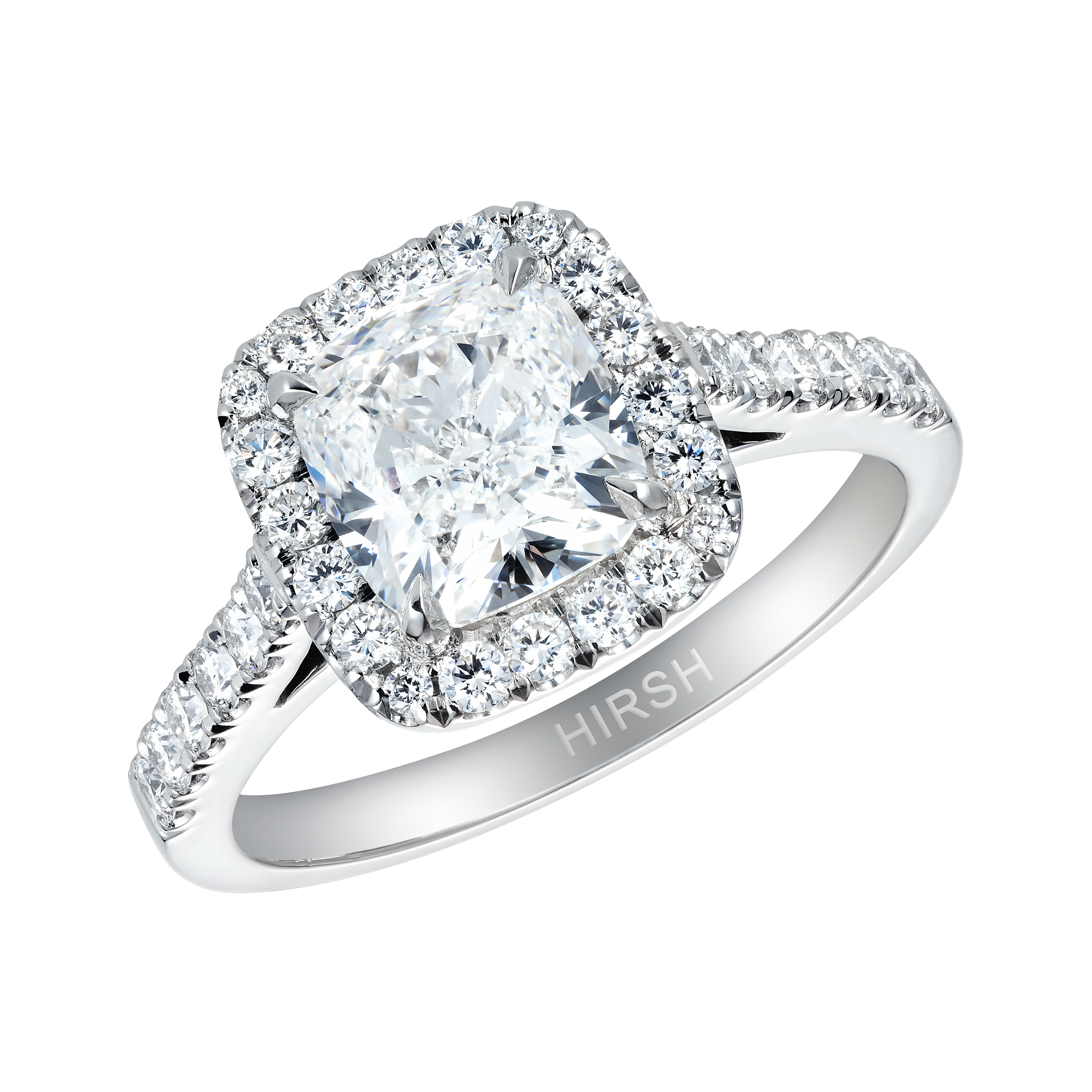 in center tw my ring cusion of diamond white platinum universe cushion halo forevermark gold
