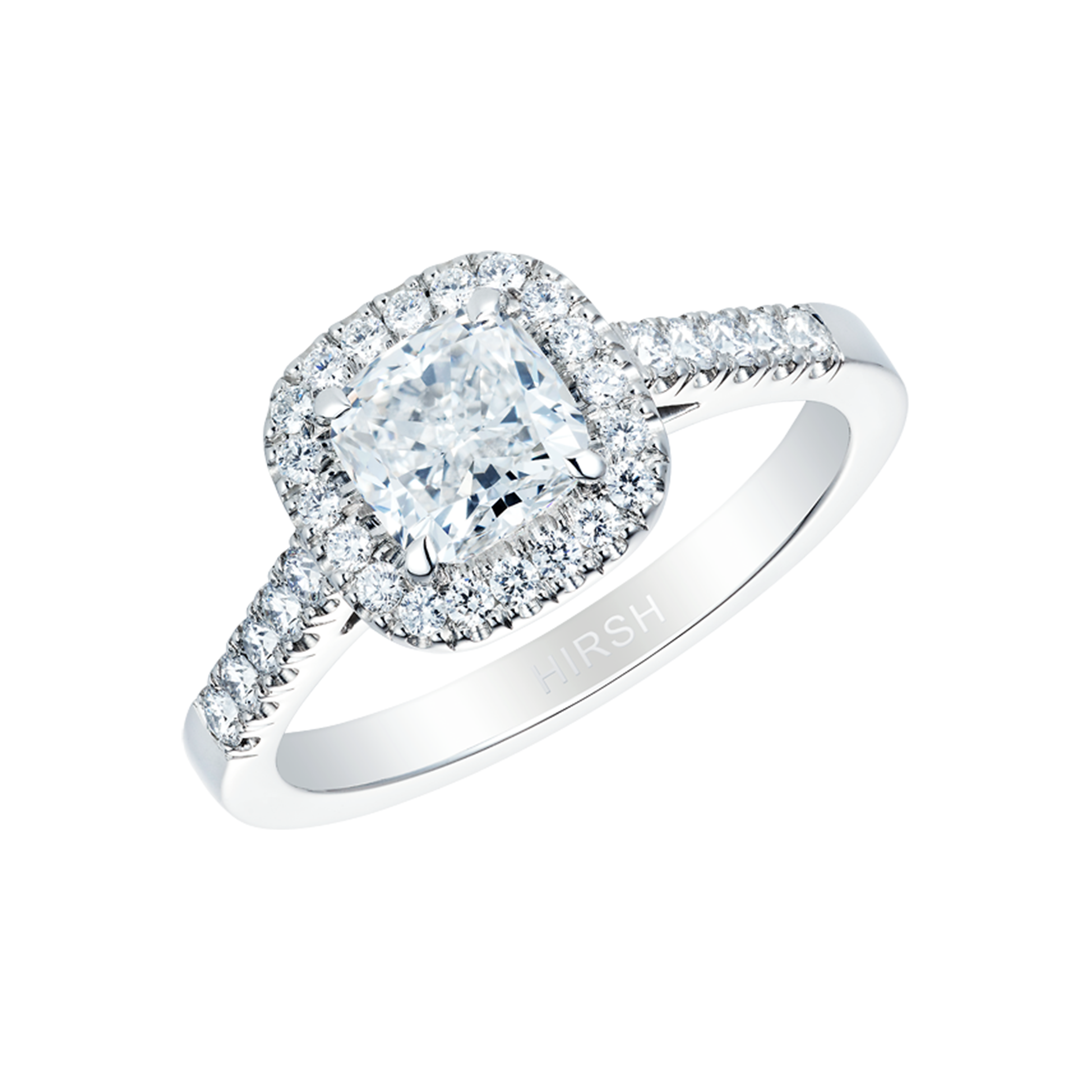 co halo diamond ctw rings gia cushion ring salvatore engagement cusion