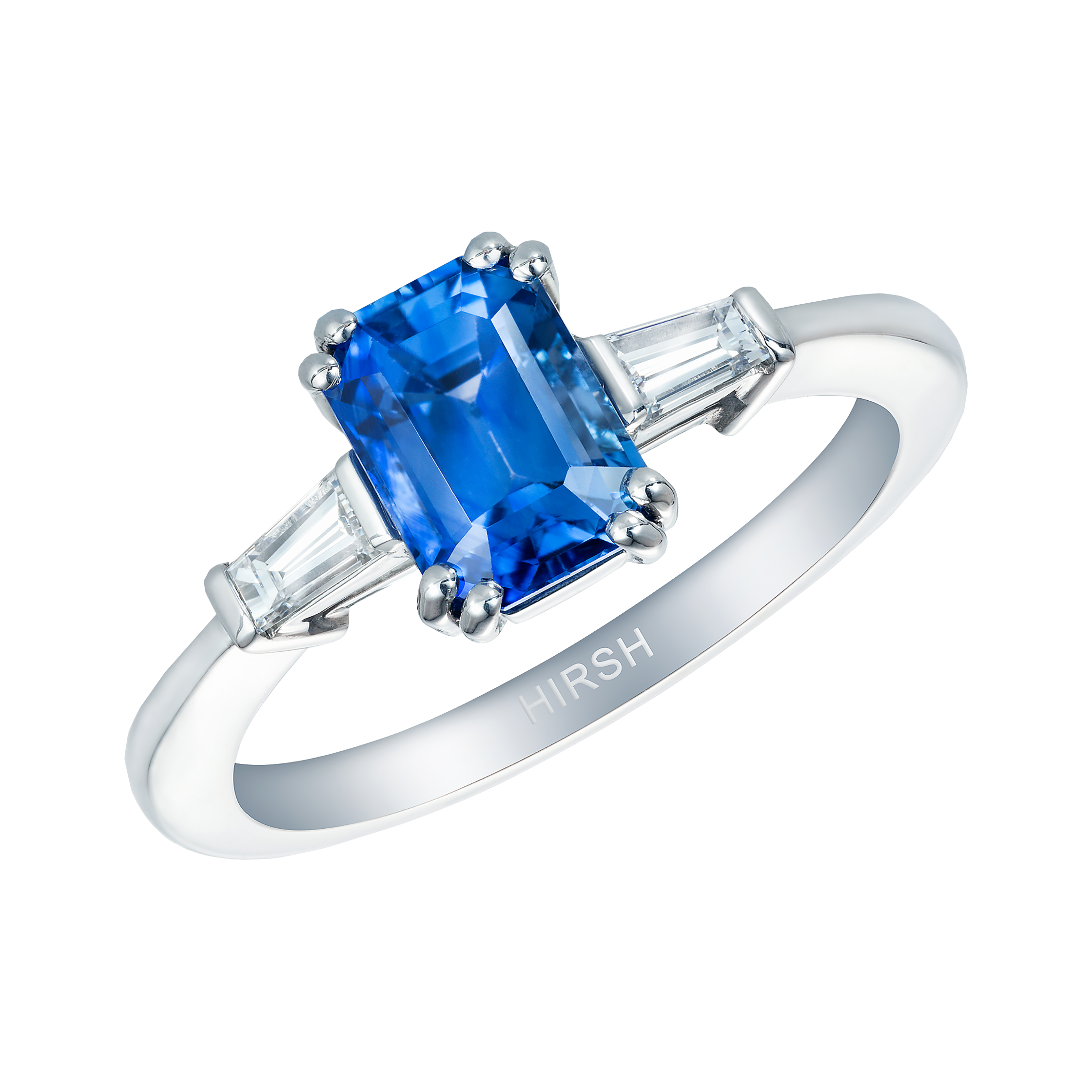 ring diamnd coast cut sapphire and emerald platinum blue product diamond