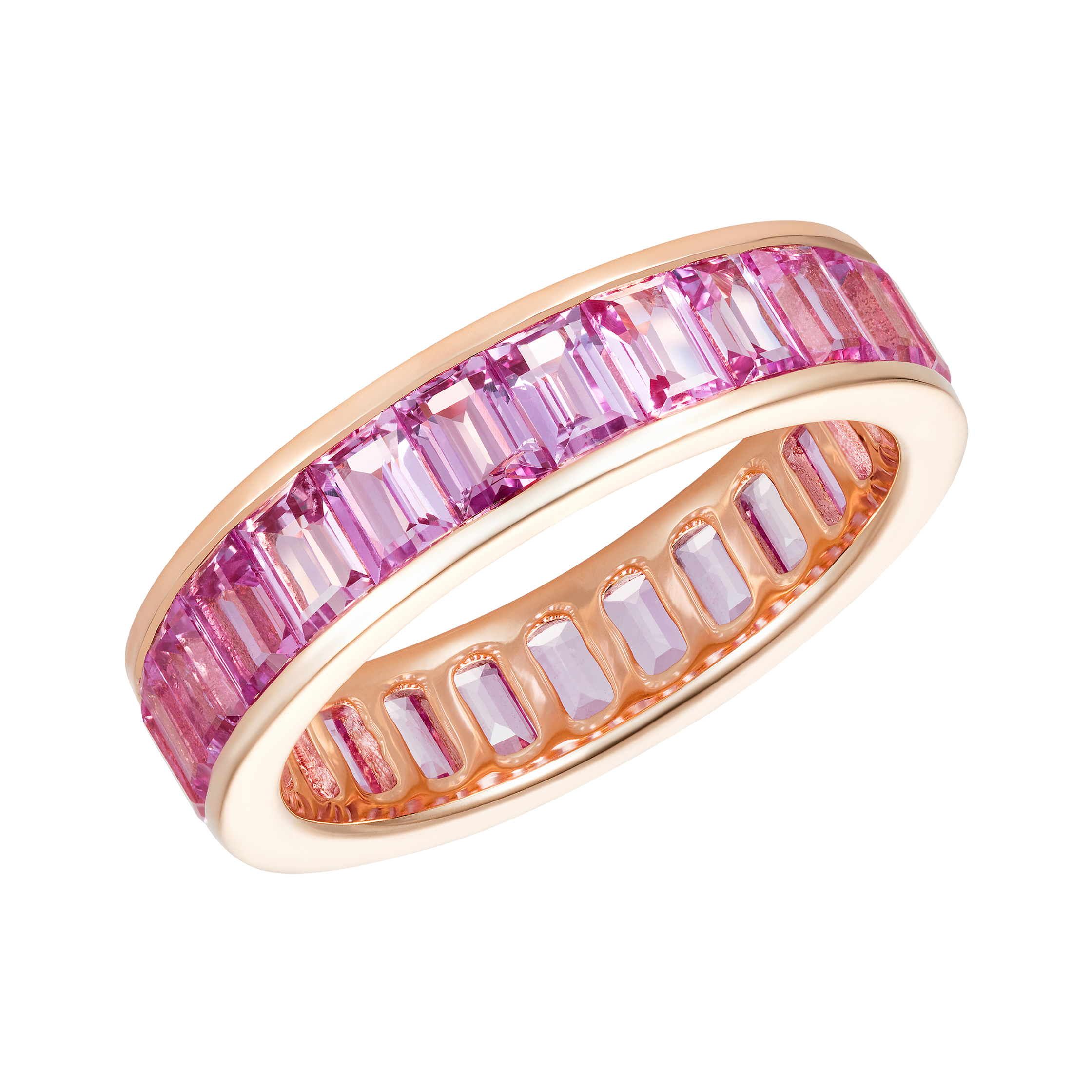 band products eternity rainbow bands sapphire