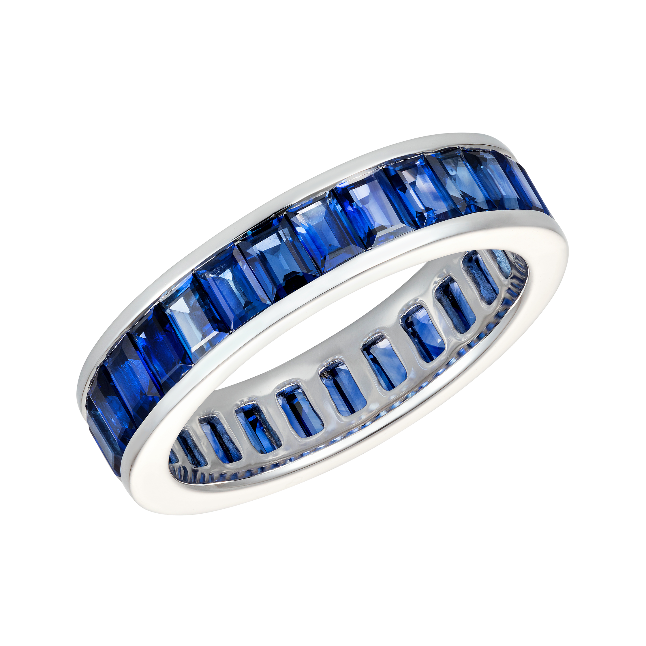 shipping gold band overstock jewelry white blue rings diamonds ring boston stackable saffire today sapphire bay free product watches