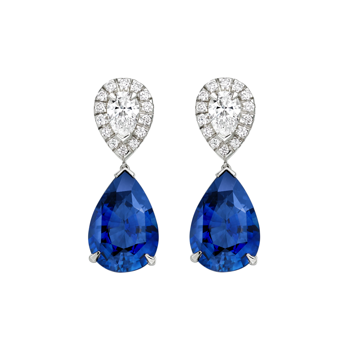 Burlington Sapphire Earrings