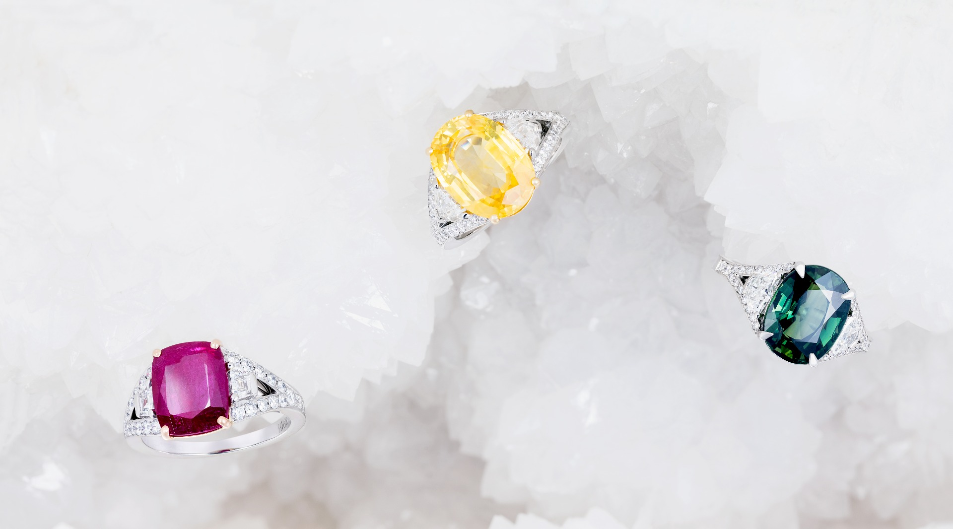 Majestic Cocktail Rings